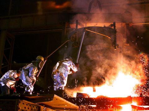 WTC Steel Pour