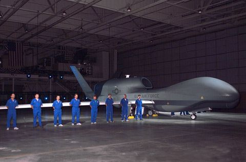 Global Hawk First Production Air Vehicle