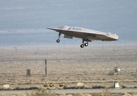The first flight of the Pegasus UAV