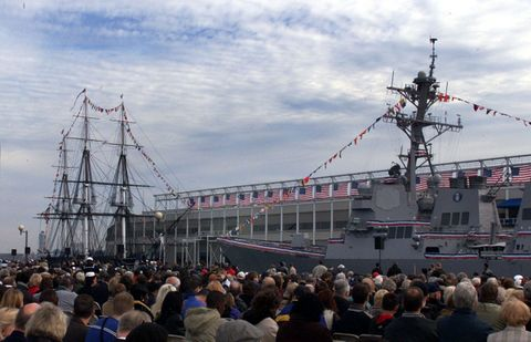 USS Preble returns to San Diego