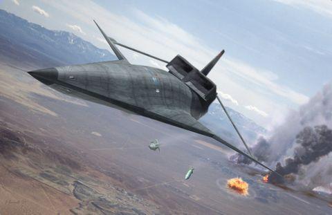 QSP Strike Aircraft