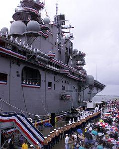 U.S. Navy Commissions USS IWO JIMA (LHD 7) Built by     Northrop Grumman Ingalls Shipbuilding