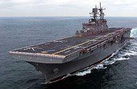 USS IWO JIMA READY FOR FLEET DUTY  (18063)