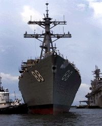 Northrop Grumman Aegis Destroyer to be Christened at Ingalls Shipbuilding
