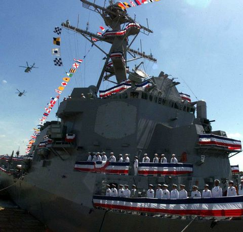 U.S. Navy Commissions Northrop Grumman-Built Aegis Destroyer
