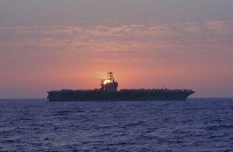 The USS Theodore Roosevelt (CVN 71)