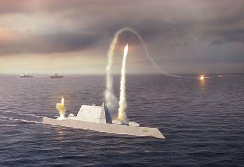 Zumwalt-Class Destroyer (DDG 1000)
