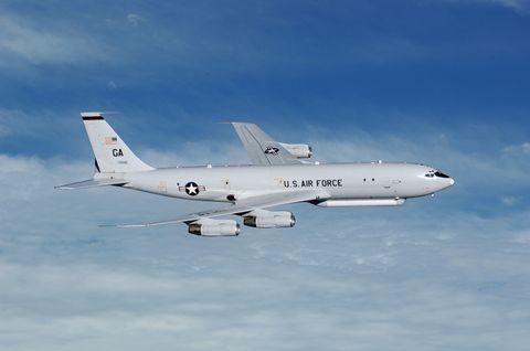 E-8C Joint STARS and (MP-RTIP)
