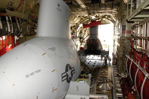 MQ-8B Fire Scout & FCS Class IV UAV