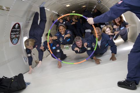 Weightless Flights of Discovery