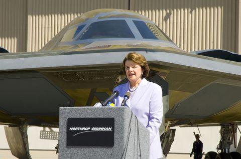 U.S. Senator Feinstein