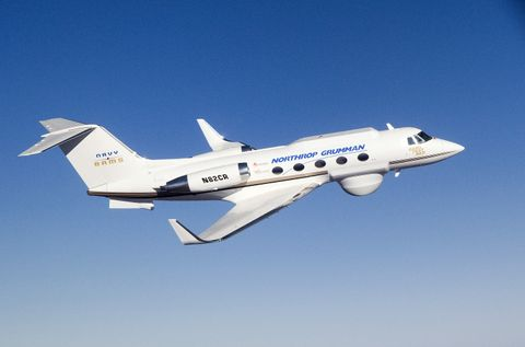 Gulfstream II test bed aircraft