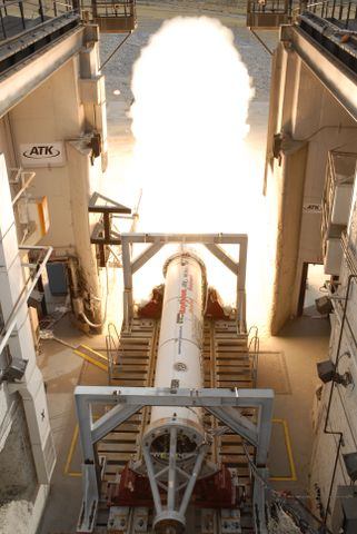 Successful First-Stage Rocket Motor Test