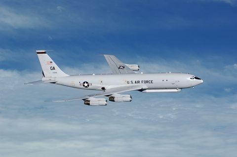E-8C Joint STARS aircraft
