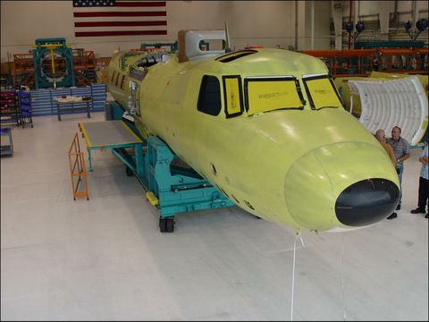 First E-2D Fuselage Join (b)