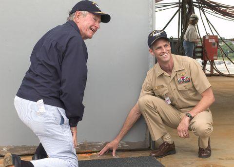 George H. W. Bush (b)