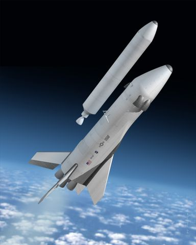 Hybrid Launch Vehicle - Artist Concept 1