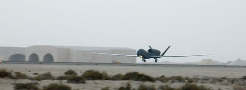 RQ-4A Global Hawks Deploy (b)