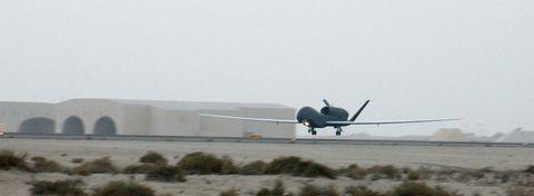 RQ-4A Global Hawks Deploy (b)