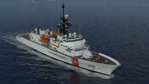 Northrop Grumman to Provide C4ISR and Machinery Control Systems for the New Offshore Patrol Cutters for the US Coast Guard