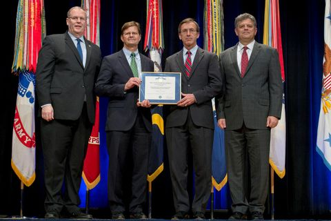 Mike Erk Receives Department of Defense Distinguished Civilian Service Award