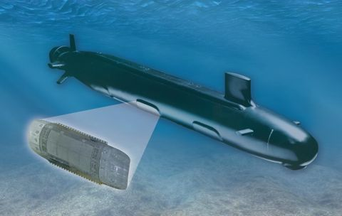 Northrop Grumman Delivers First Block IV Light Weight Wide Aperture Array (LWWAA) Submarine Shipset