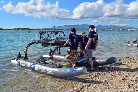 Northrop Grumman Engineers Mentor University Teams at Pacific Rim Maritime RobotX Challenge