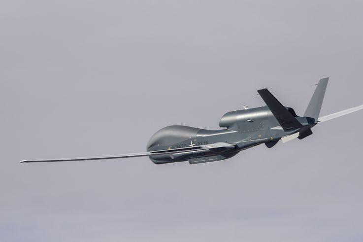 NATO AGS Maiden Flight
