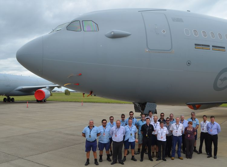 Multi-Role Tanker Transport Through-Life Support