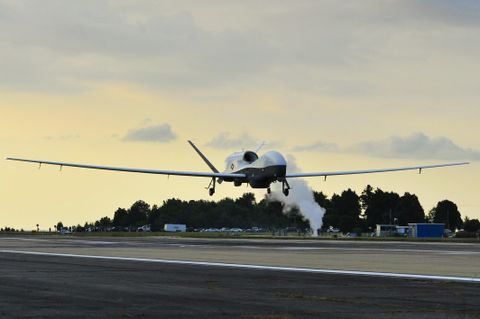 Korean Manufacturers Deliver First Global Hawk Components
