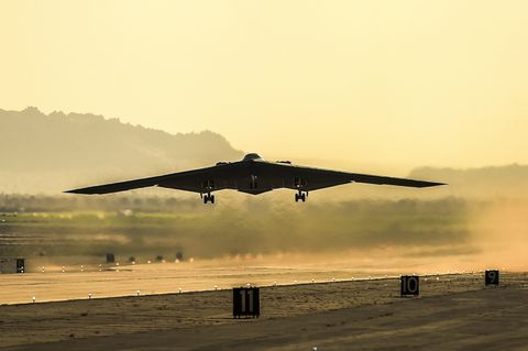 Northrop Grumman Completes B-2 Bomber Maintenance in Record Time