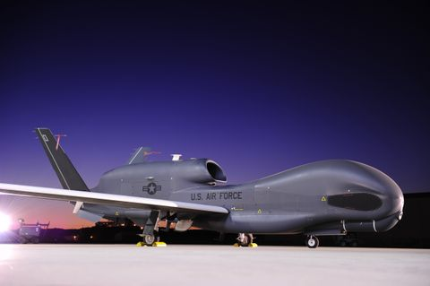 Northrop Grumman Successfully Flies Optical Bar Camera on RQ-4 Global Hawk