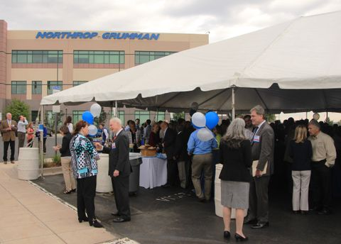 Northrop Grumman celebrates small businesses milestone