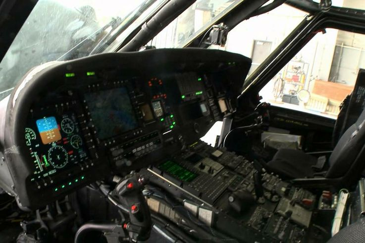 Black Hawk Cockpit Digitization