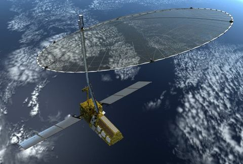 Northrop Grumman's Astro Aerospace Completes NISAR Reflector Preliminary Design Review