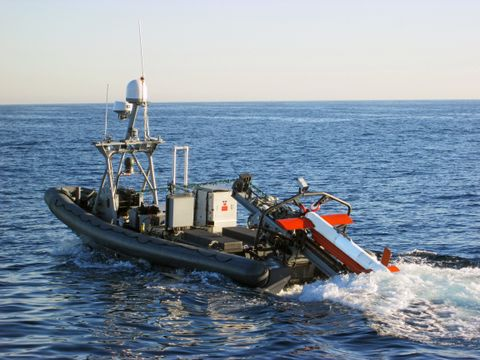 Northrop Grumman Delivers First AQS-24B Mine Hunting Sonar Upgrades to the US Navy
