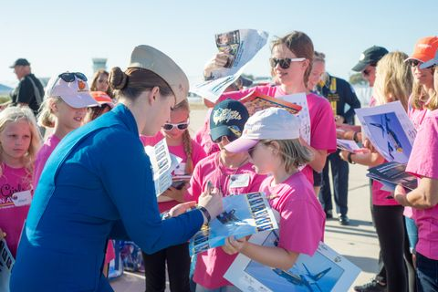 "Northrop Grumman Helps Inspire Future ""Fly Girls"" at Miramar"