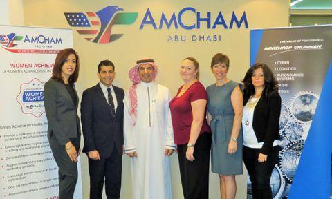 شركة نورثروب جرومان  في الشرق الأوسط وغرفة التجارة الأمريكية في أبو ظبي يبحثان سُبل التطوير المهني للمرأة الإماراتية