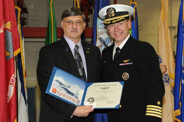 Northrop Grumman's Joseph J. Farina Named 29th Honorary Naval Aviator