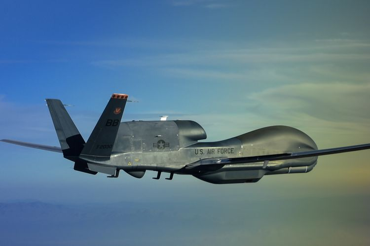 Northrop Grumman Begins Flight Tests of the MS-177 Multi-Spectral Sensor on RQ-4 Global Hawk