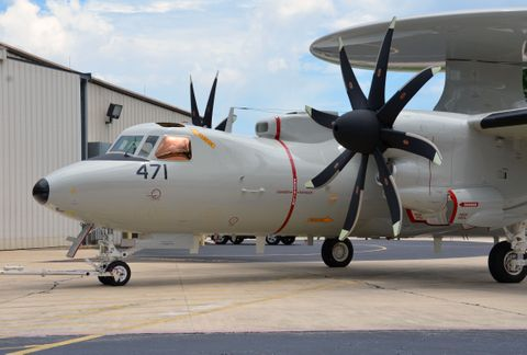 Northrop Grumman Completes First Flight of Japan's E-2D Advanced Hawkeye