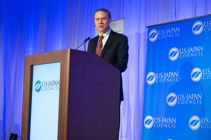 Wes Bush at the US-Japan Council 2017