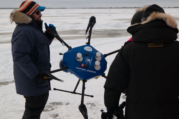 Northrop Grumman and San Diego Zoo Global Successfully Use New Autonomous Technology to Collect Arctic Sea Ice Data