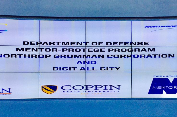 Northrop Grumman Completes DoD Small Business Mentor-Protégé Agreement with Baltimore-based Digit All City, to Develop Cyber Warriors Diversity Program