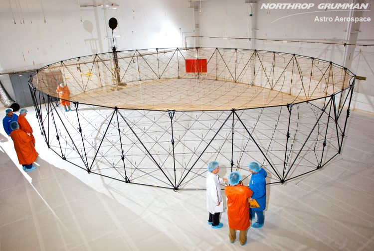 Northrop Grumman's Astro Aerospace Selected for Airbus Defence and Space Inmarsat 6 L-band Antenna Reflectors
