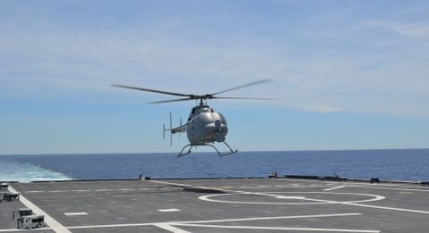MQ-8C Fire Scout Completes Successful First Flight from Littoral Combat Ship