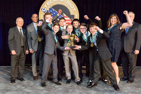 Northrop Grumman Awards $50,000 in Scholarship Funds to Winning Teams of CyberPatriot IX