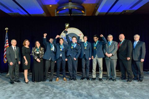 Northrop Grumman Awards $50,000 in Scholarship Funds to Winning Teams of CyberPatriot IX