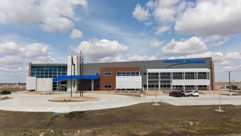 Northrop Grumman Opens New, Hi-Tech Facility at Grand Sky, North Dakota