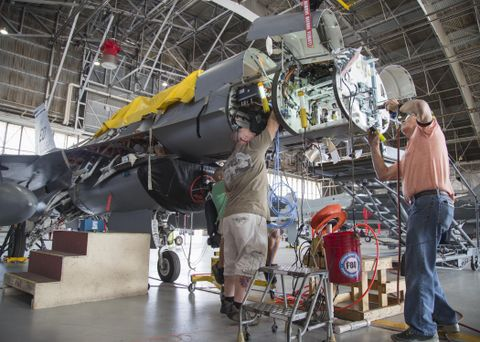 United States Air Force Selects the Northrop Grumman APG-83 SABR for F-16 AESA Radar Upgrade
